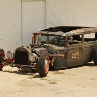 Rat Rod — мощная свалка на колесах