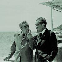 Поездки Ричарда Никсона в СССР. Немного фото и истории.