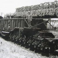 Железнодорожные орудия Второй Мировой