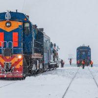 Железная дорога на самом дальнем севере. Потрясающие фото.