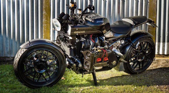 Супербайк Madboxer с двигателем от Subaru WRX — 2.5 литра