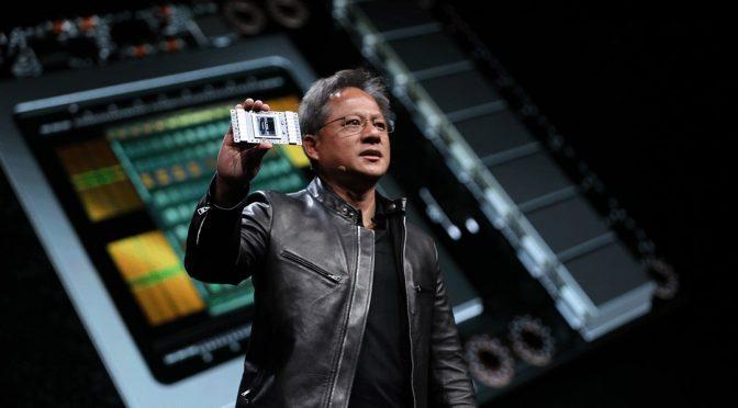 Nvidia показала новый чип на выставке Computex 2017
