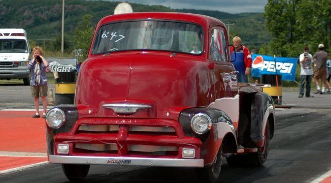 Chevy COE 54 — грузовик для драг-рейсинга