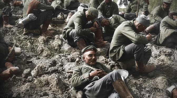 Фото военнопленных Германии времен Первой Мировой