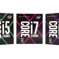 Intel анонсировали новый процессор Intel Core X
