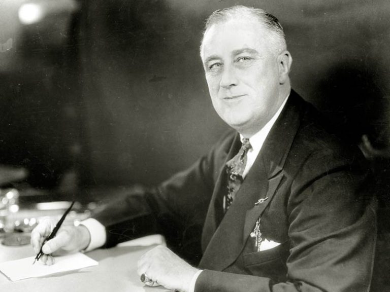 a view of the influence of franklin d roosevelt