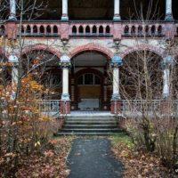 Заброшенный госпиталь Белиц, Германия. (Фото)
