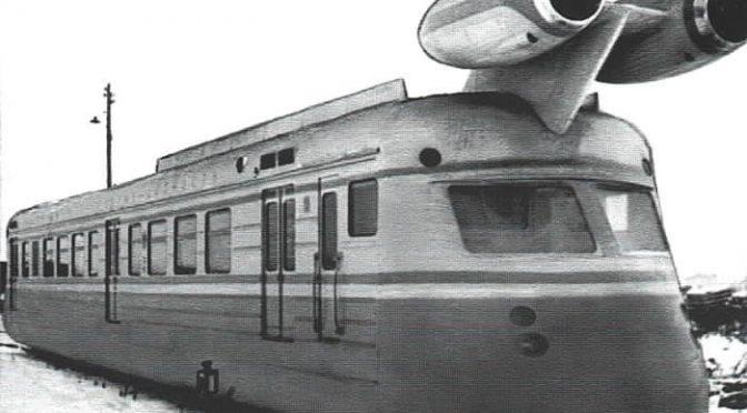 Экспериментальные поезда на реактивной тяге