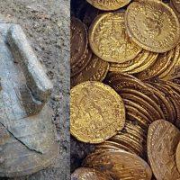 Неожиданная находка: старинные римские монеты
