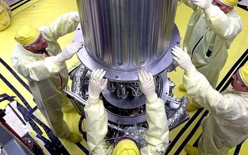 Установка ядерного реактора NASA для пилотируемых миссий на Марс