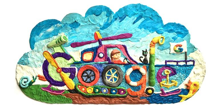Конкурсная работа А.Фагиной из Нижнего Новгорода на тему «На транспорте будущего через всю страну»