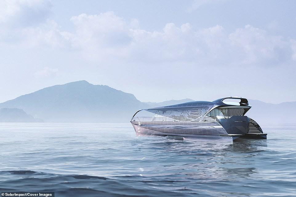 Яхта швейцарской компании SolarImpact Yacht AG