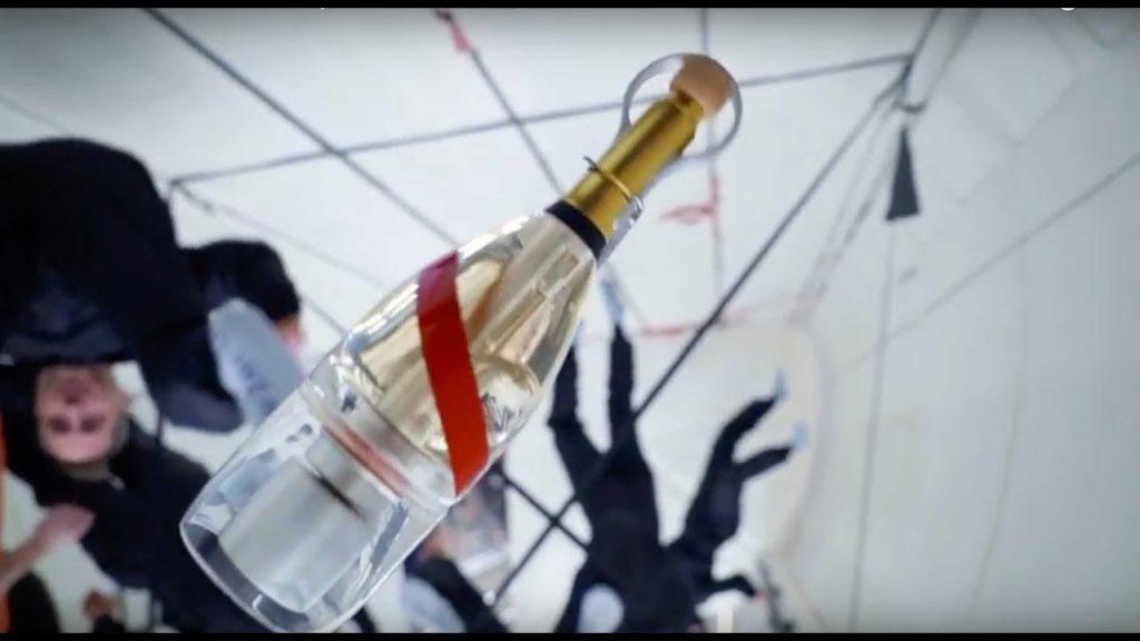 Mumm Grand Cordon Stellar - бутылка шампанского, разработанная для употребления в условиях невесомости