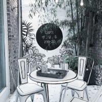 Комикс-кафе YND239-20 в Сеуле