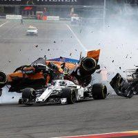 Самые резонансные аварии чемпионата Formula 1