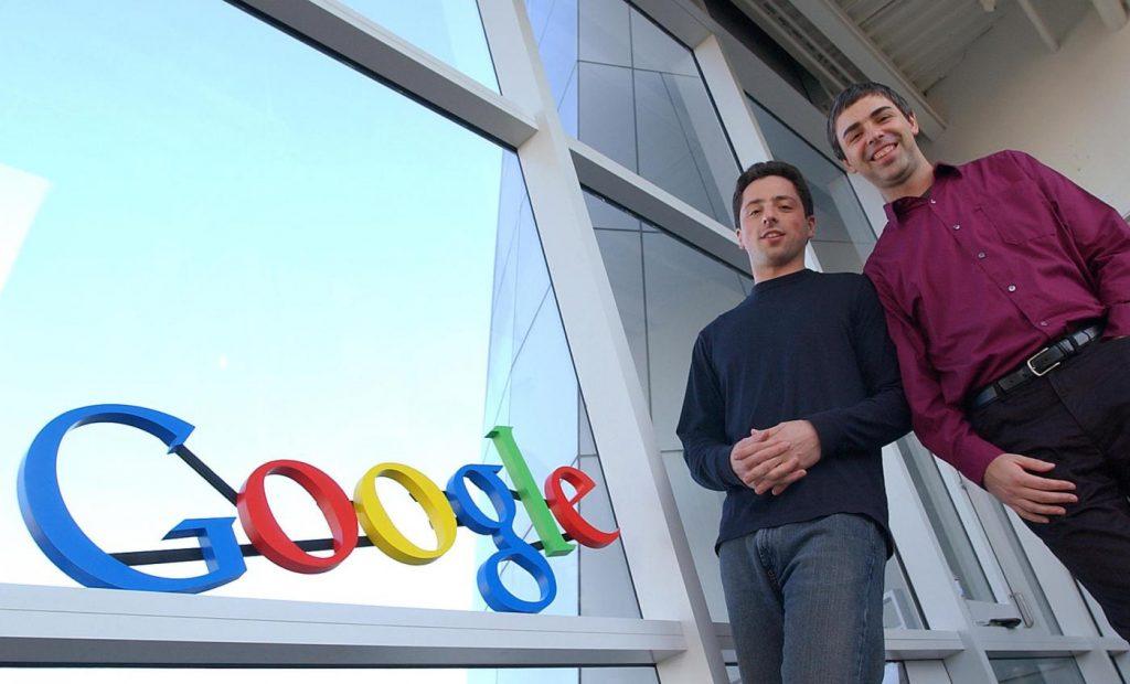 Основатели компании Google Inc. Ларри Пейдж и Сергей Брин