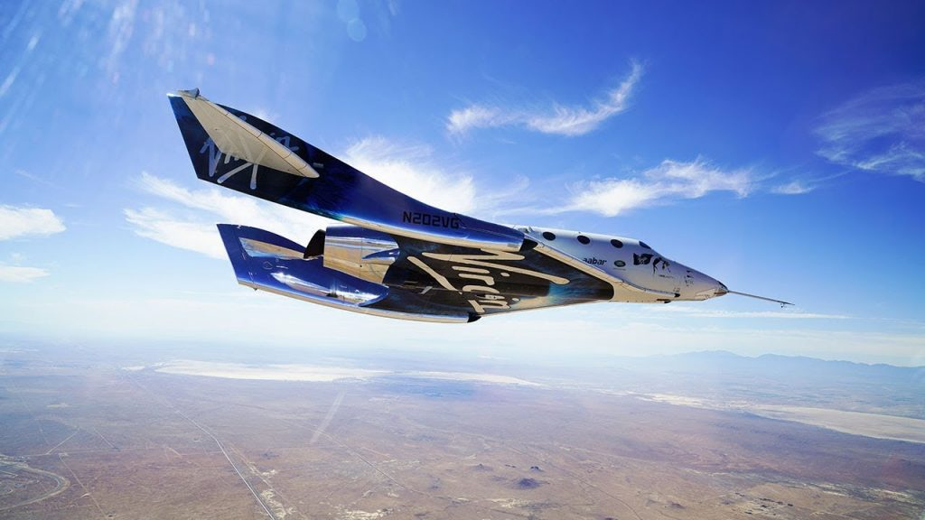 Космический корабль компании Virgin Galactic VSS