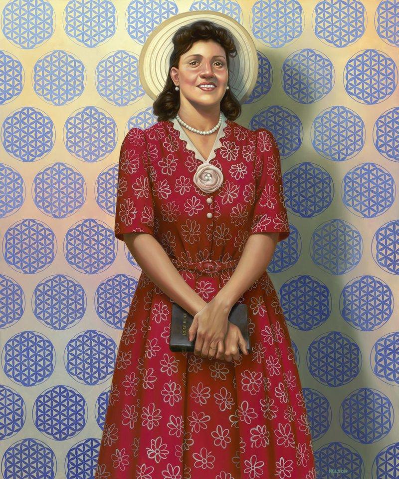 Портрет Генриетты Лакс в Национальной портретной галерее