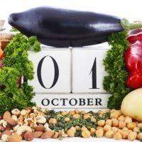 1 октября — Всемирный день вегетарианства