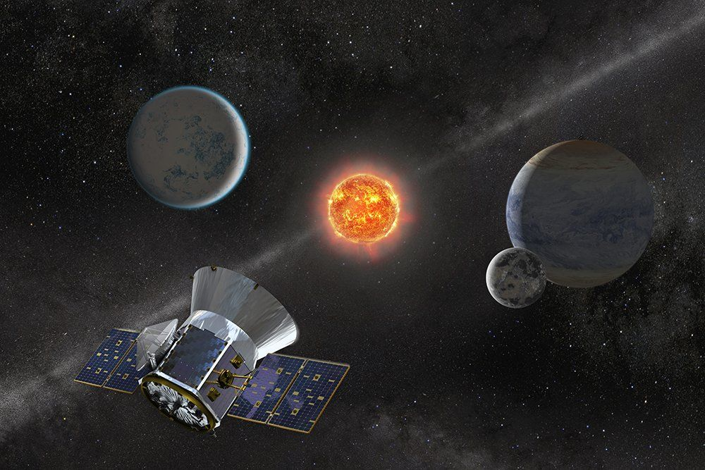 Преемник Кеплера – космический телескоп TESS