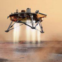 Космический аппарат InSight совершил успешную посадку на Марс