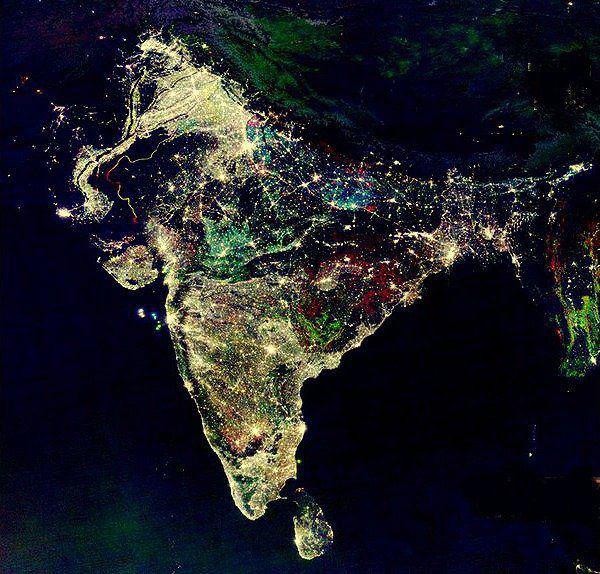 Дивали - праздник, который видно даже из космоса