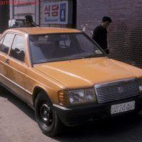 Mercedes W190 из Северной Кореи