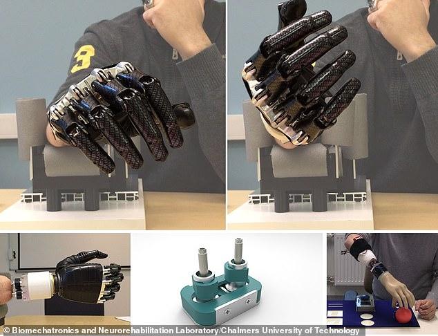 Система с остеоинтегрированным имплантатом - активный протез предплечья, разработанный в Техническом университете Чалмерса, Швеция