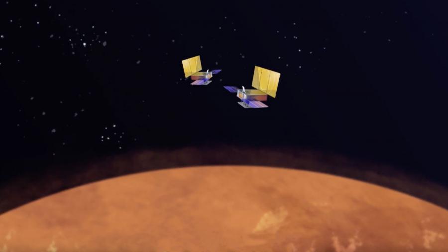 Спутники Wall-E и Eva