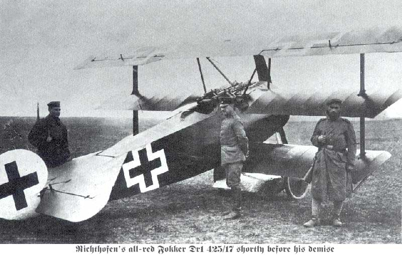 Fokker Dr.1 фон Рихтгофена