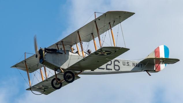 Curtiss JN-4, известный в народе как Jenny