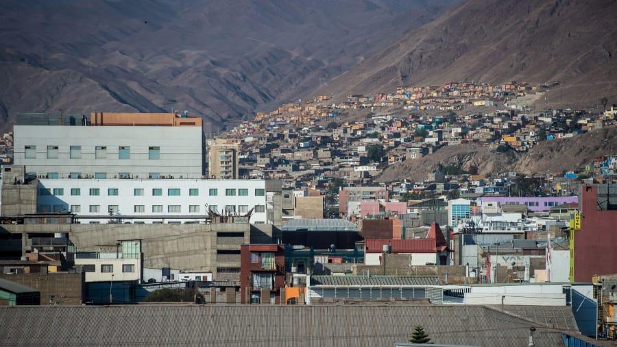Антофагаста - город и морской порт в Чили