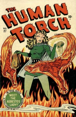 Timely Comics: Human Torch Comics #2 (осень 1940)