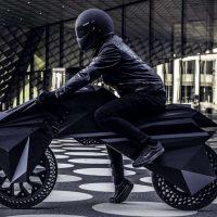 Nera E-bike — первый электрический мотоцикл, напечатанный на 3D принтере