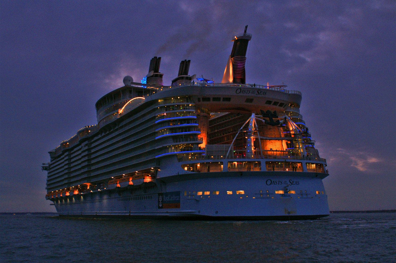 Картинка корабль оазис