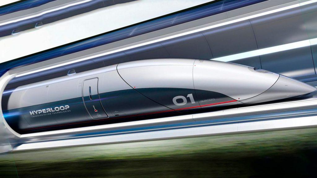 Пассажирская капсула HyperloopTT - Quintero One
