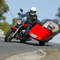 Flexit — мотоциклетная коляска с наклонными шарнирами