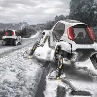 Elevate – концепт шагающего автомобиля от Hyundai