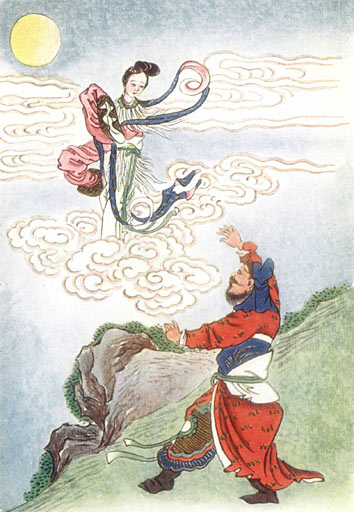 Чанъэ улетает на Луну