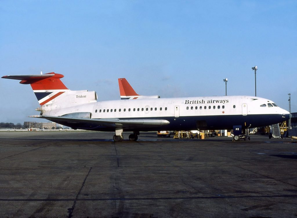 Hawker Siddeley HS 121 Trident авиакомпании «British European Airways»