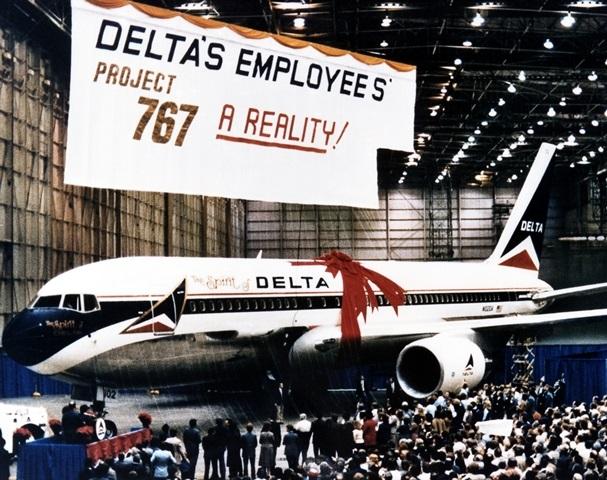 Boeing767-200 по прозвищу «Дух Дельты» («The Spirit of Delta»)