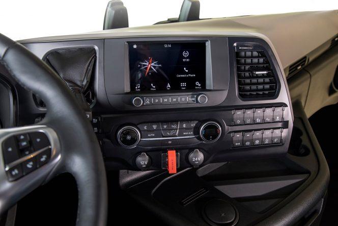 Ford F-MAX панель управления