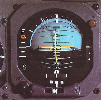 Индикатор прибора слепой посадки