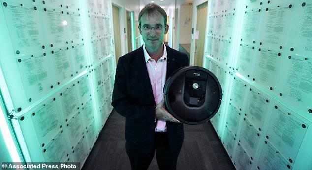 Колин Энгл, один из основателей и главный исполнительный директор компании iRobot