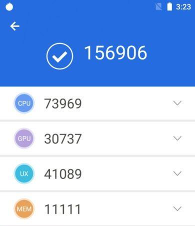 Процессор MediaTek Helio P70 набрал в AnTuTu Benchmark почти 157 000 баллов