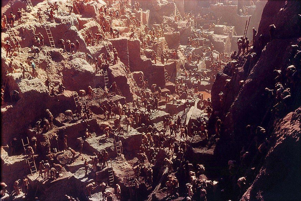 Золотая лихорадка в Серра-Пелада, Пара, Бразилия, 1980-е годы