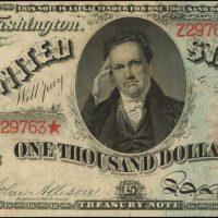 Три редчайшие купюры банка США XIX века рассчитывают продать за 8 миллионов долларов