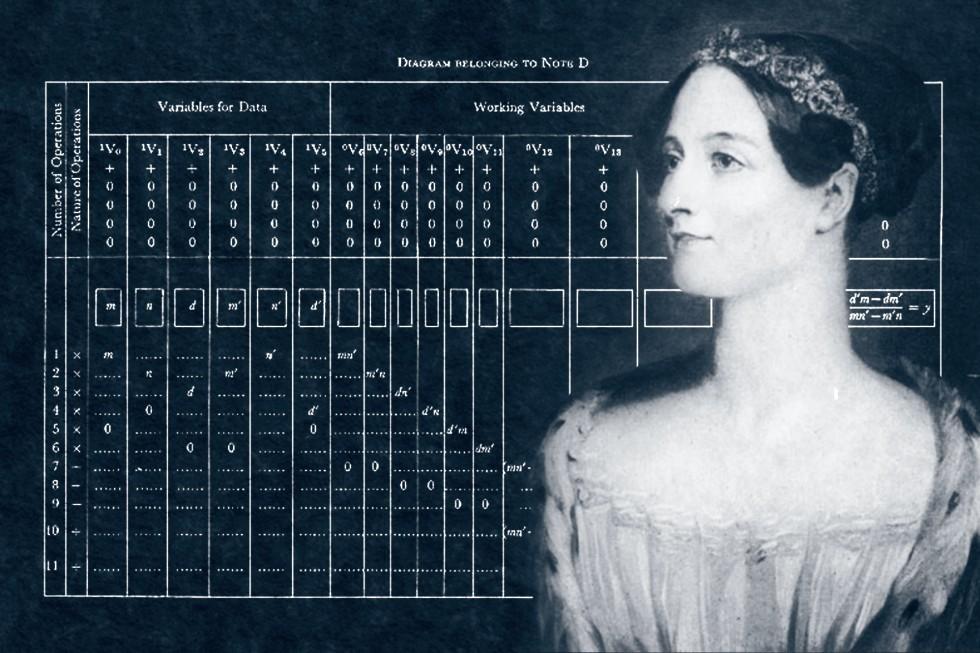 Ада Лавлейс и предложенное ею описание алгоритма вычисления чисел Бернулли на аналитической машине Чарльза Бэббиджа