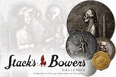 Stack's Bowers Galleries - аукционный дом, который занимается перепродажей редких коллекционных монет, купюр и ценных бумаг