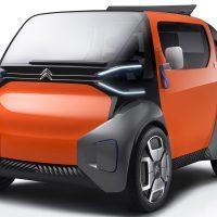 Citroen Ami One — концепт городского автомобиля для аренды
